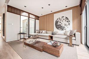 350平別墅項目裝修新中式風格設計