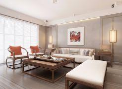 2020新中式240平米裝修圖片 2020新中式四居室裝修圖