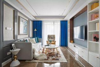 2020新古典90平米装饰设计 2020新古典套房设计图片