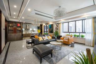 2020现代110平米装修设计 2020现代四居室装修图