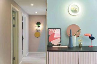 自然灰色卫生间装饰设计图片