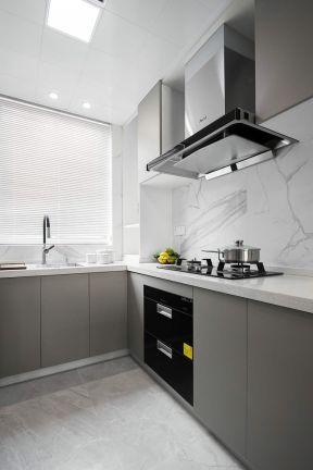 2020简约厨房装修图 2020简约橱柜装修效果图片