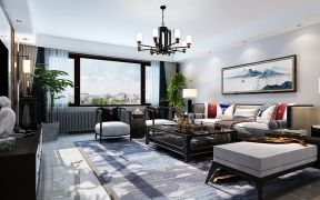 客厅暖色系沙发室内装修图片