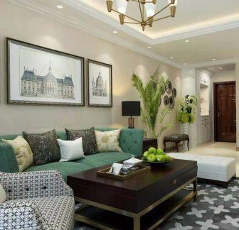 2020簡約90平米裝飾設計 2020簡約二居室裝修設計