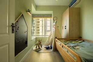 2020简约儿童房装饰设计 2020简约背景墙装修图