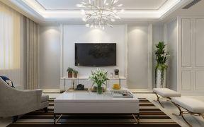 2020簡歐150平米效果圖 2020簡歐三居室裝修設計圖片