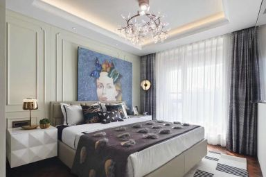 2020简欧卧室装修设计图片 2020简欧背景墙装饰设计