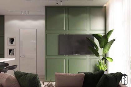 典雅卧室现代简约装饰实景图