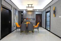 摩登现代橙色细节室内装修设计