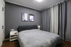 2020现代卧室装修设计图片 2020现代窗帘装修设计图片