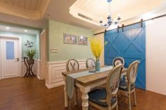 简单大气白色厨房装饰图片
