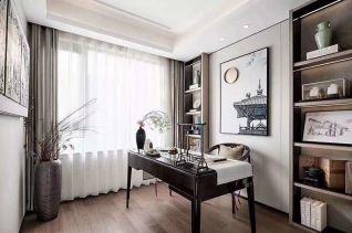 朴素温馨背景墙装饰设计图片
