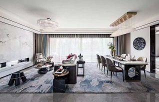 2020新中式240平米装修图片 2020新中式四居室装修图
