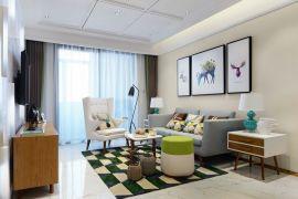 现代客厅背景墙效果图大全