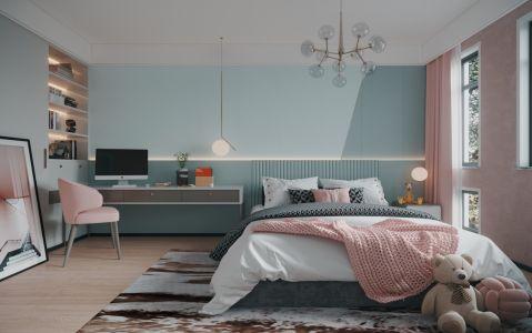 典丽矞皇卧室装饰图