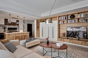 客厅白色背景墙设计图