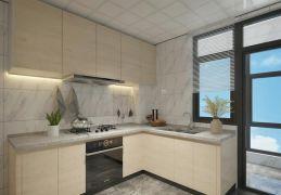 高贵风雅白色厨房装潢实景图片