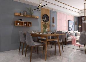 餐厅餐桌现代简约装修方案