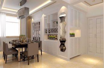 美式客厅细节装修案例图片