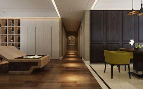 2020现代简约客厅装修设计 2020现代简约过道图片
