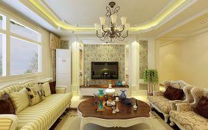 2020简欧客厅装修设计 2020简欧沙发装修设计