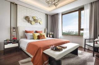 美感卧室中式家装设计图
