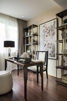低调优雅客厅装潢效果图