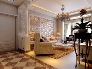 大气彩色沙发装潢图片