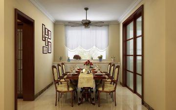 精美绝伦餐桌实景图