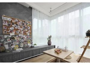 典雅卧室背景墙装饰图