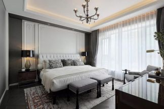 2021现代卧室装修设计图片 2021现代吊顶效果图