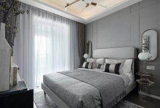 2021现代卧室装修设计图片 2021现代落地窗图片