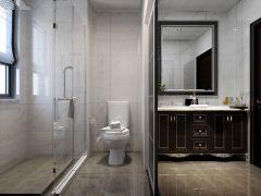 质朴卫生间洗漱台装修案例效果图