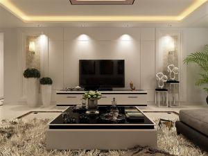 优雅客厅现代简约装修设计图片