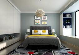 简洁卧室现代简约家装设计