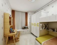 2020现代简约儿童房装饰设计 2020现代简约床效果图