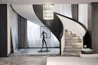 2020韩式客厅装修设计 2020韩式楼梯装修设计