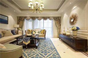 2020欧式150平米效果图 2020欧式四居室装修图