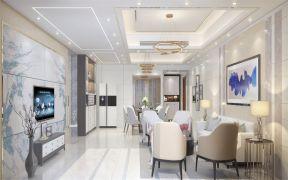 2020簡歐110平米裝修設計 2020簡歐套房設計圖片