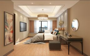 2020新中式150平米效果图 2020新中式四居室装修图