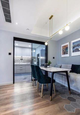 2020新中式150平米效果圖 2020新中式三居室裝修設計圖片