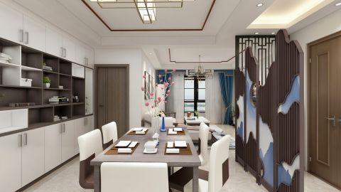 2020新中式150平米效果圖 2020新中式四居室裝修圖