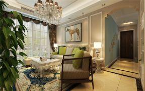 2020現代簡約90平米裝飾設計 2020現代簡約三居室裝修設計圖片