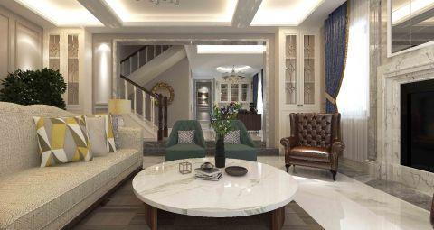 温馨白色客厅装饰设计图片