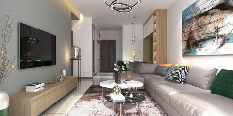 2020简约客厅装修设计 2020简约背景墙装修设计