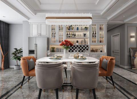 豪华白色客厅室内效果图
