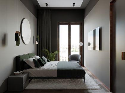 卧室床头柜现代简约装饰图片