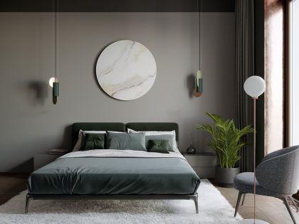 质朴卧室床室内装修图片