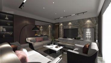 2020簡約150平米效果圖 2020簡約三居室裝修設計圖片