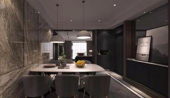 风雅灰色餐厅室内装修设计